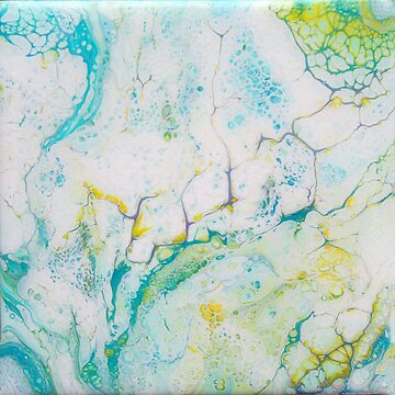 Bubbling Through Fluid Painting by CGStudio
