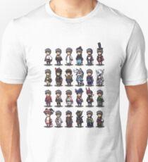 Bravely Default Jobs Unisex T-Shirt