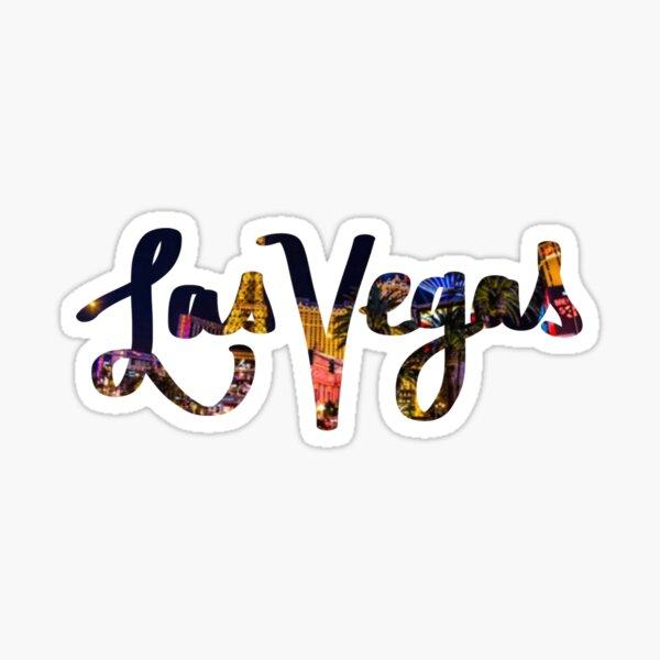 Las Vegas - Cursive Sticker