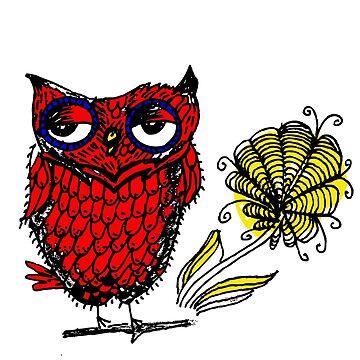 owl  by ecrimaga