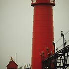 Grand Haven Lighthouse by Shellie Hill