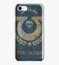 Ultramarines ragged iPhone Case/Skin
