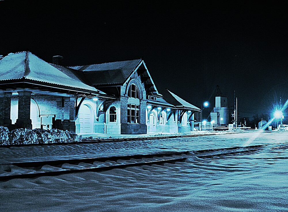 Winter at the Depot by MClementReilly