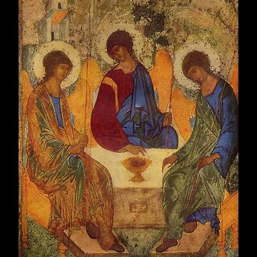 Holy Trinity by Rublev by dianegaddis