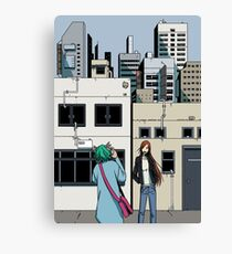 Day Walkers! Canvas Print