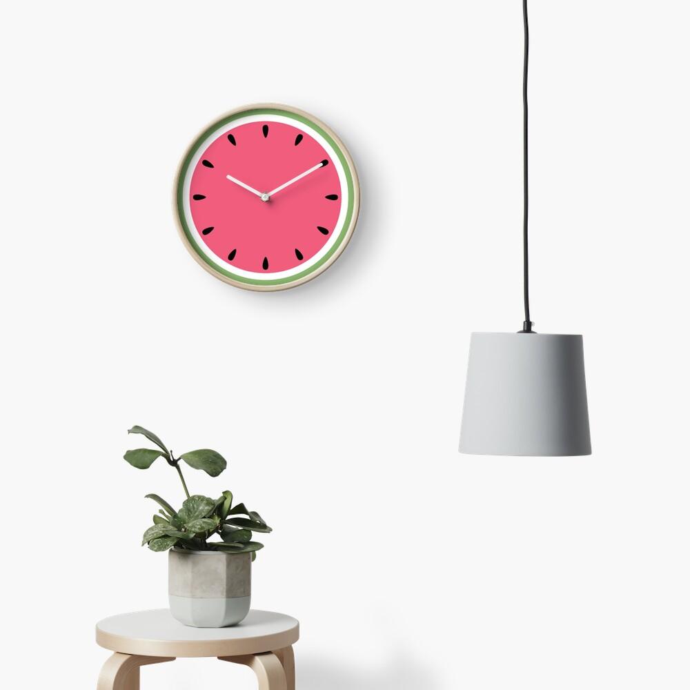 Watermelon Clock Clock