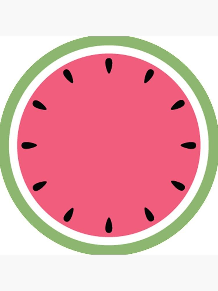Watermelon Clock by JoniandCo