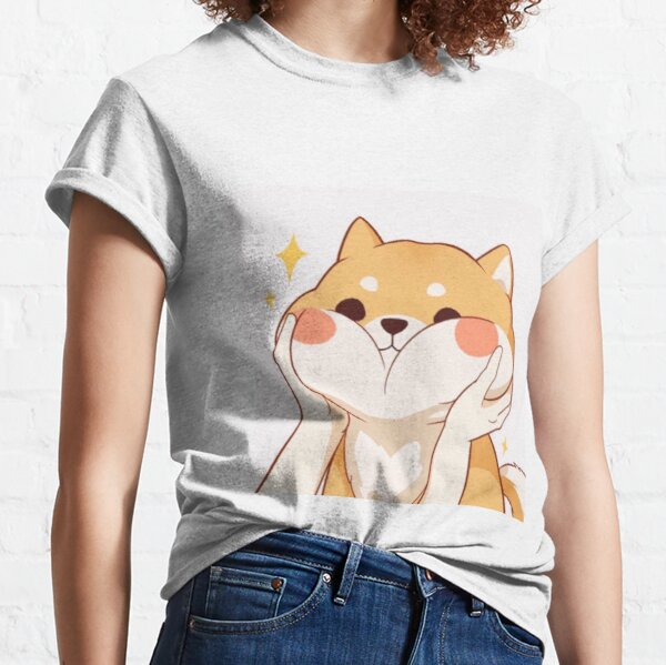Kawaii Shiba inu T-shirt classique