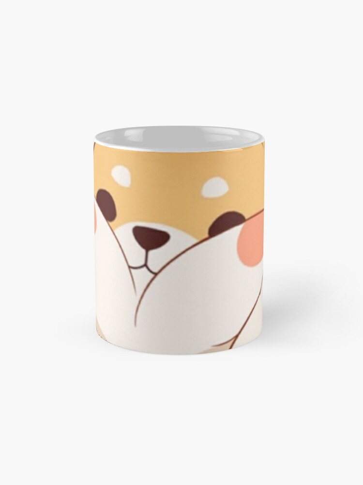 Alternate view of Kawaii Shiba inu Mug