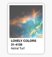 Color Swatch - Astral Turf Sticker