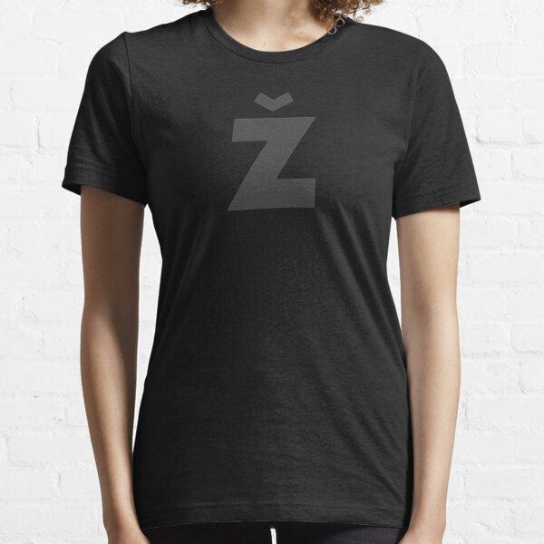 Žižek's Ž (darkgray, fancy Z) Essential T-Shirt