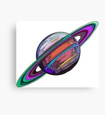 Saturn:  The Ringed Planet Canvas Print