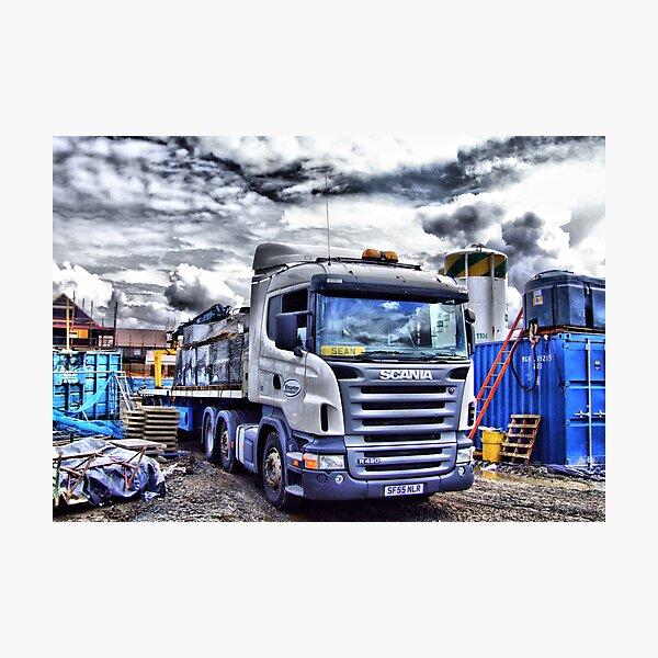 Scania Lámina fotográfica