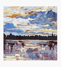 Algonquin Park Sunset Photographic Print