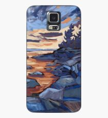 Sunset in Algonquin park  Case/Skin for Samsung Galaxy