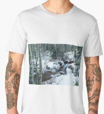 Snow Scene Men's Premium T-Shirt