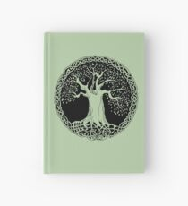 Celtic Wisdom Tree (Black version) Hardcover Journal