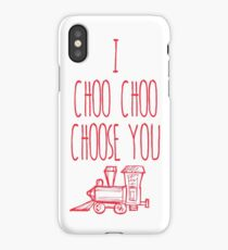 I Choo Choo Choose You Valentines Gift iPhone Case/Skin