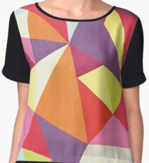 Triangalize Women's Chiffon Top