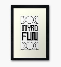 Wyrd Wicca Framed Print