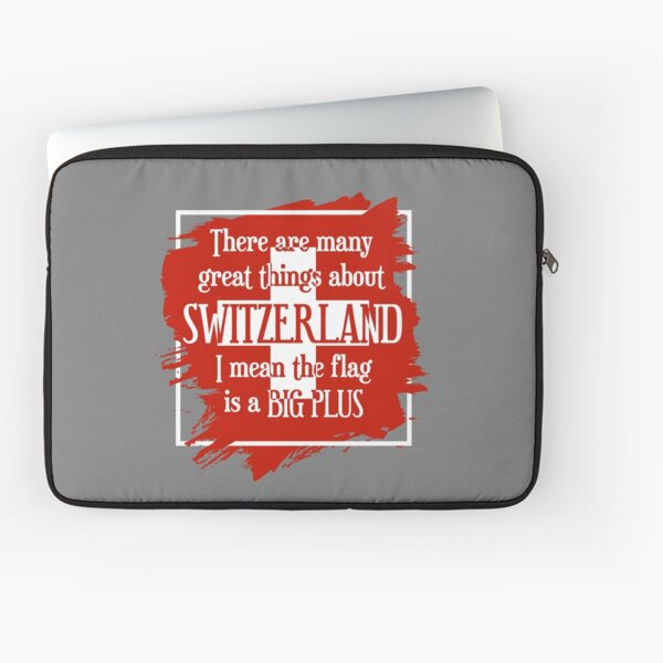 Great Things About Switzerland Laptop Sleeve