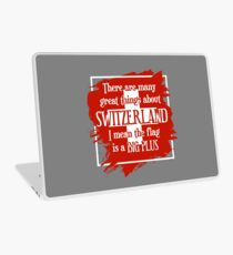 Great Things About Switzerland Laptop Skin