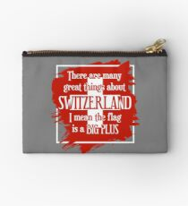 Great Things About Switzerland Studio Pouch