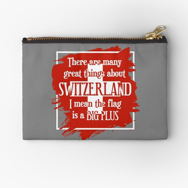 Great Things About Switzerland Zipper Pouch