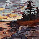 Purple Sunset by saraalexmullen