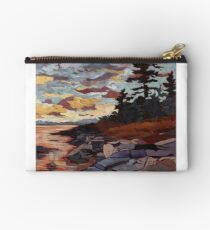 Purple Sunset Studio Pouch