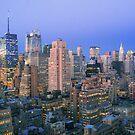 Sunset in New York by Boris001