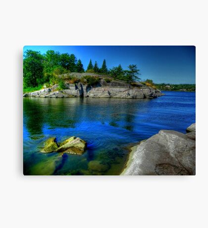 Heart of the Canadian Shield Canvas Print