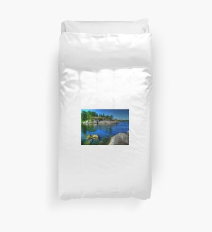 Heart of the Canadian Shield Duvet Cover