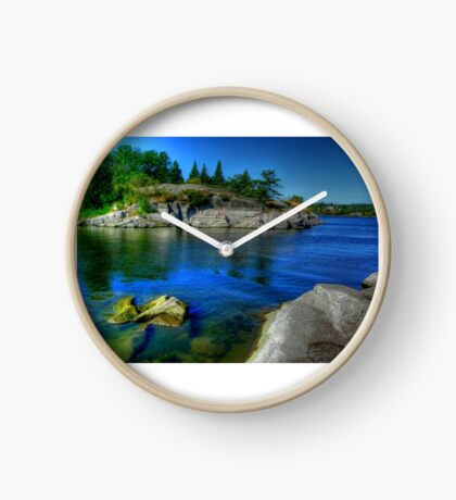 Heart of the Canadian Shield Clock