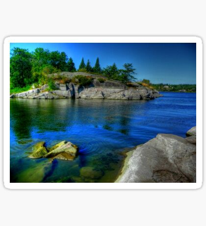 Heart of the Canadian Shield Sticker