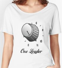 One Louder Women's Relaxed Fit T-Shirt