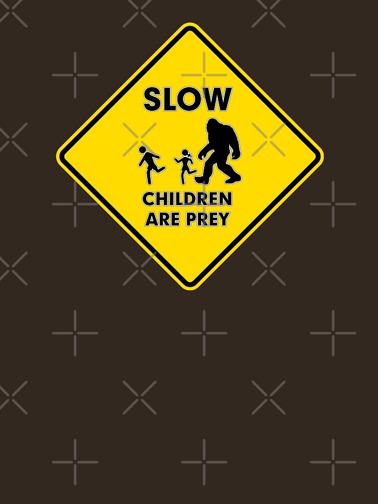 Slow Children Are Prey - Bigfoot by technoqueer