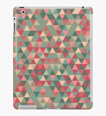 Retro Triangle Pattern iPad Case/Skin