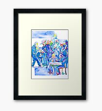 .community Framed Print