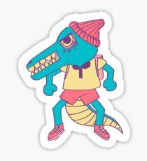 crocodile boy Sticker