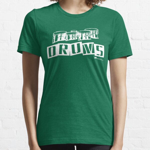 Label Me A Tenor Drum (White Lettering) Essential T-Shirt