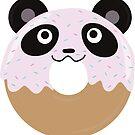 Panda Donut by ArtFr33k