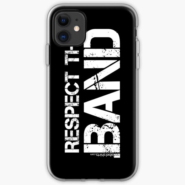 Respect The Band (White Lettering) iPhone Soft Case