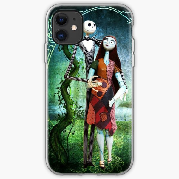 JACK AND SALLY A STRANGE AND WONDERFUL LOVE iPhone Soft Case