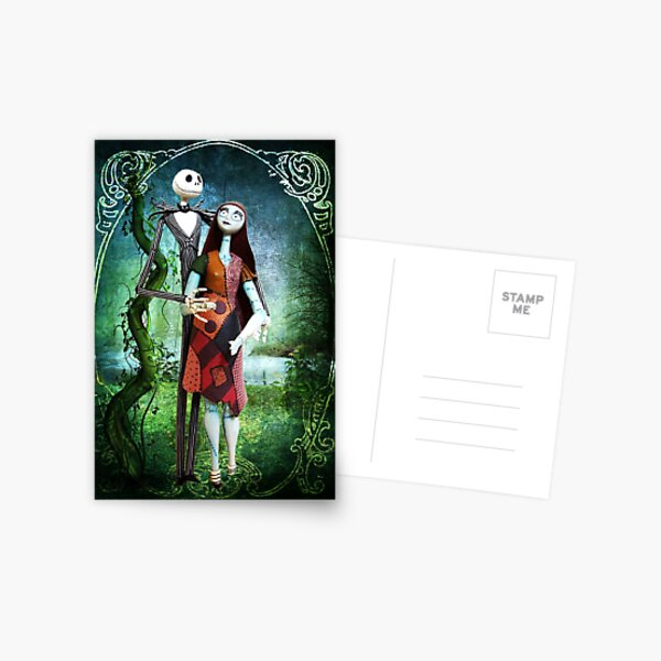 JACK AND SALLY A STRANGE AND WONDERFUL LOVE Postcard
