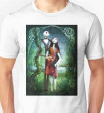 JACK AND SALLY A STRANGE AND WONDERFUL LOVE T-Shirt