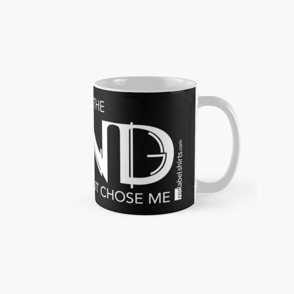 I Didn't Choose The Band (White Lettering) Classic Mug