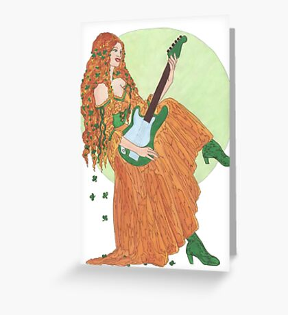 Electric Lady Ireland Greeting Card