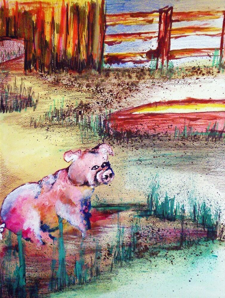 FARM PIGGY by Tammera