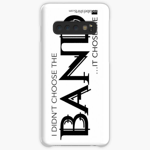 I Didn't Choose The Band (Black Lettering) Samsung Galaxy Snap Case